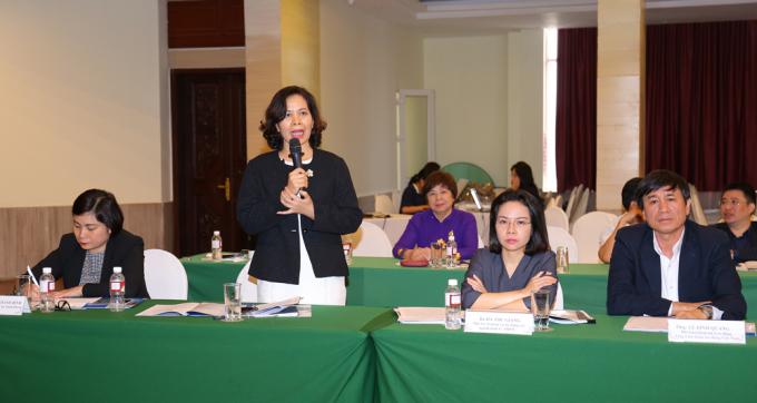 Bà Vũ Thị An, Giám đốc công ty tư vấn thuế C&A. Ảnh: VCCI.