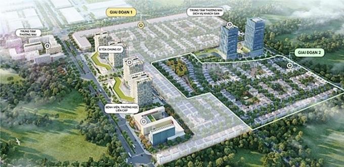 Phân khu Hoàng Lan nằm tại trái tim quần thể dự án khu đô thị Seoul Ecohome.