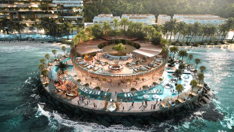 Vega Beach Club là tâm điểm của mọi hoạt động giải trí sôi động ngày và đêm tại dự án. Ảnh: Vega City Nha Trang.