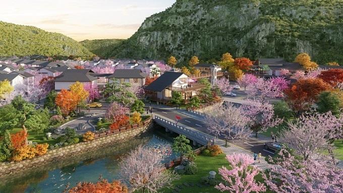 Phối cảnh phân khu Yoko Villas.