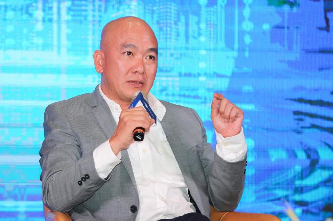 Ông Sử Ngọc Khương - Giám đốc Đầu tư cấp cao, Savills Việt Nam. Ảnh: Quỳnh Trần.