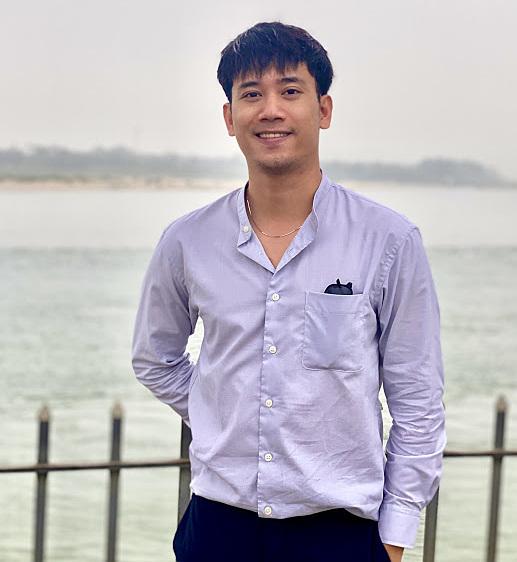 Đặng Trần Huy từ giảng viên đại học rẽ sang kinh doanh ẩm thực vì đam mê. Ảnh: Nhân vật cung cấp.