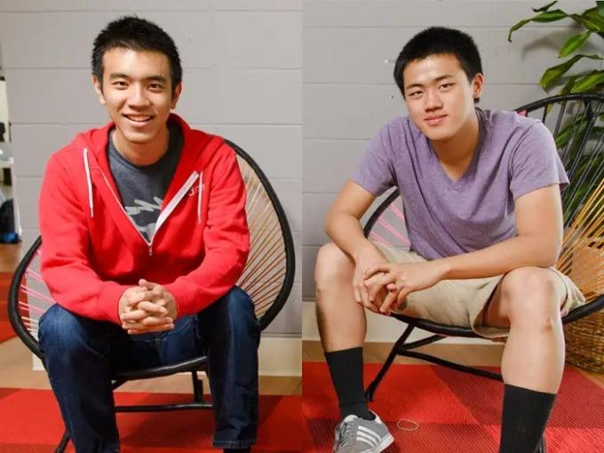 Stanley Tang (bên trái) và Andy Fang. Ảnh: DoorDash.
