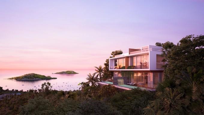 Casa Marina Premium - dự án tiên phong cung cấp dòng biệt thự cao cấp tiêu chuẩn 5 sao quốc tế tại Quy Nhơn. Ảnh phối cảnh: BCG Land.