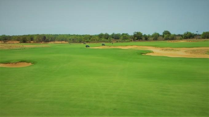 Cụm sân golf PGA Ocean tại NovaWorld Phan Thiet sắp đưa vào vận hành vào giữa tháng 4/2021. Ảnh: Novaland.