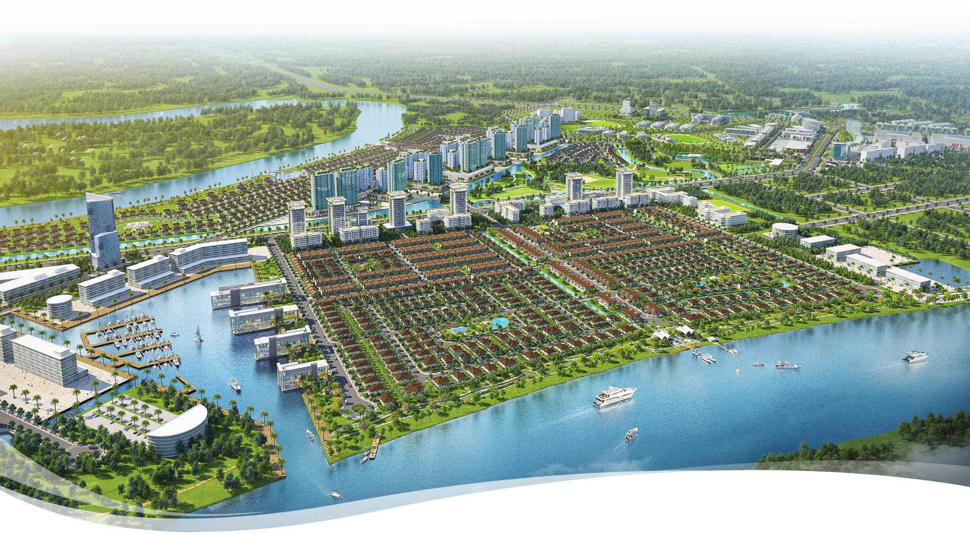 Phong cách sống mới tại 'thành phố bên sông' Waterpoint 11
