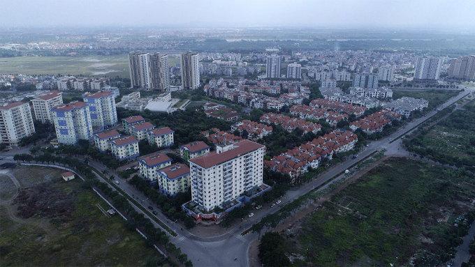 Thị trường bất động sản Long Biên. Ảnh: Giang Huy.