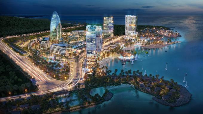 Phối cảnh tổng thể dự án Vega City Nha Trang. Ảnh: KDI Holdings.