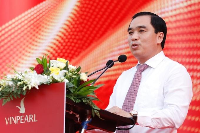 Ông Huỳnh Quang Hưng, Chủ tịch UBND thành phố Phú Quốc. Ảnh: Hữu Khoa.