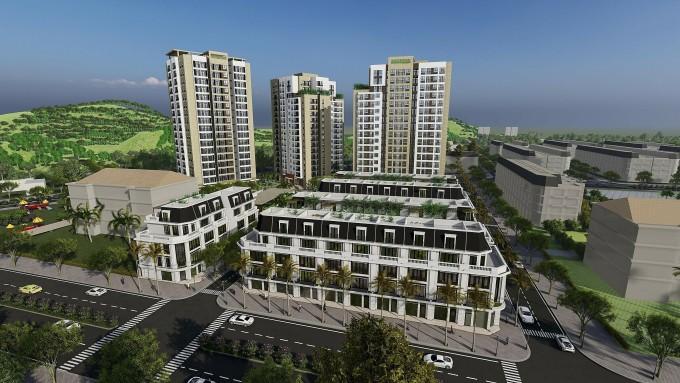 Dự án có vốn đầu tư khoảng 700 tỷ đồng, nằm trong khu đất 1,85 ha.