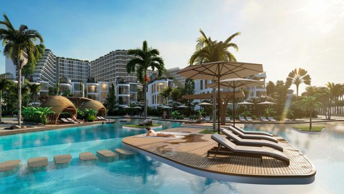 Phối cảnh dự án Charm Resort Long Hải.