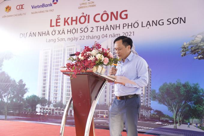 Ông Lương Trọng Quỳnh, Phó Chủ tịch UBND tỉnh Lạng Sơn.