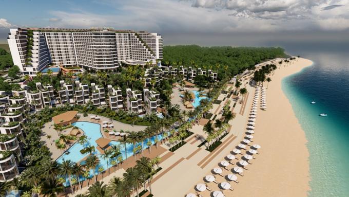 Charm Resort Long Hải góp phần làm nên tên tuổi Charm Group.
