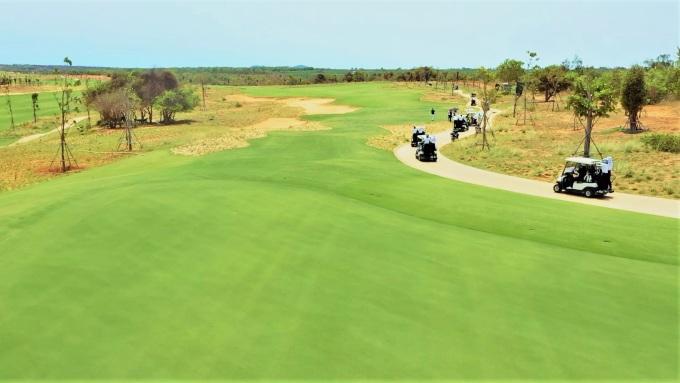 NovaWorld Phan Thiet vừa khai trương sân Golf PGA Ocean, một trong hai sân thuộc cụm sân Golf PGA 36 hố độc quyền tại Việt Nam. Ảnh: Novaland.