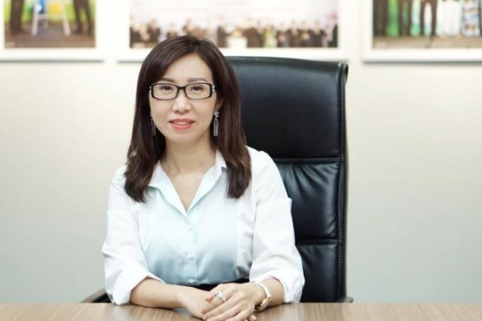 Bà Trần Thị Lệ, Tổng giám đốc NutiFood. Ảnh: NutiFood.
