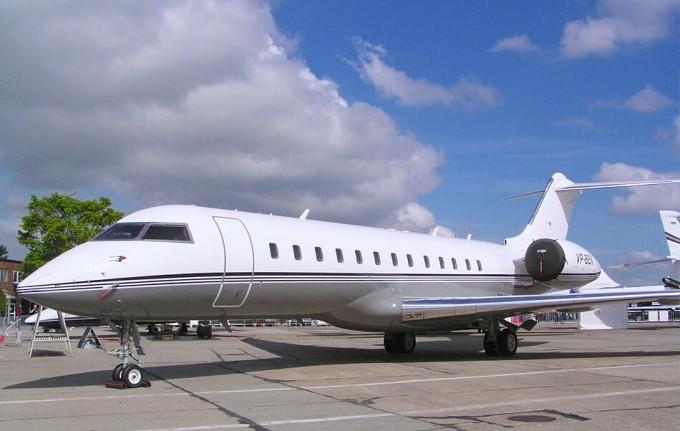 Một chiếc Bombardier BD-700 Global Express. Ảnh: Flugzeuginfo