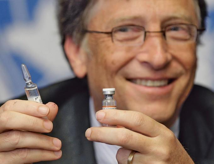 Bill Gates trong một bài phát biểu về y tế tại Liên hợp quốc. Ảnh: Reuters