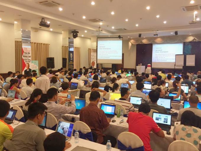80% học viên tham gia lớp huấn luyện TikTok Ads ra đơn ngay tại lớp. Ảnh: IM Group.