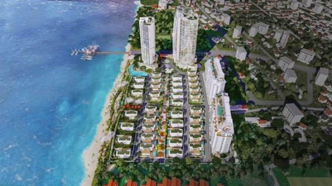 Dự án Aria Vũng Tàu Hotel & Resort với 90 % căn hộ view trực diện biển.