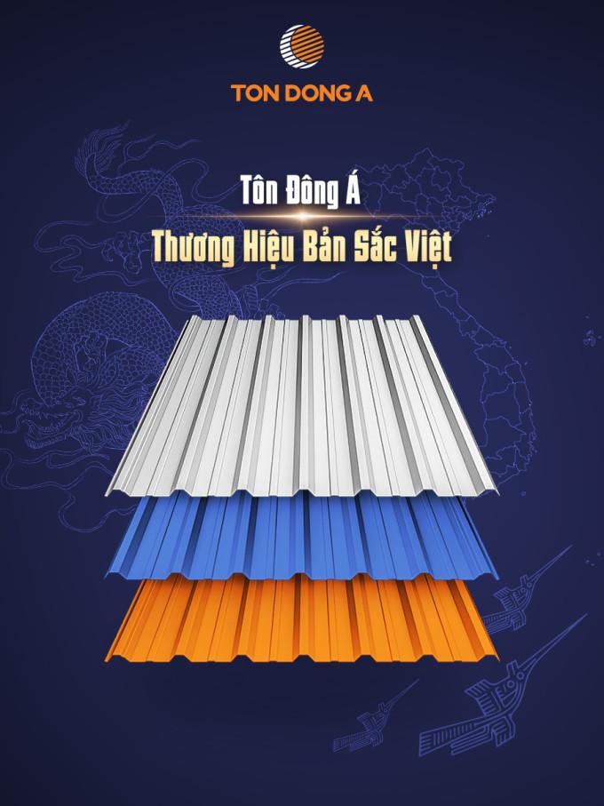 Tôn Đông Á ra mắt các dòng sản phẩm mới mang bản sắc Việt.