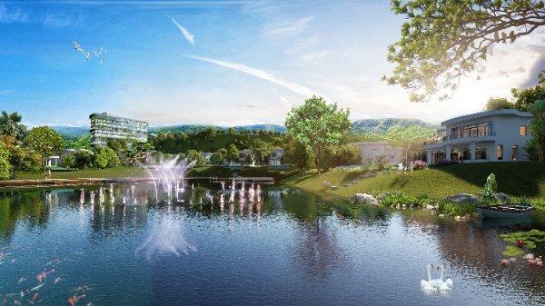 Bất động sản nghỉ dưỡng ven đô có sổ đỏ được nhiều khách hàng lựa chọn. Ảnh minh họa dự án Ivory Resort & Villas tại Hòa Bình.