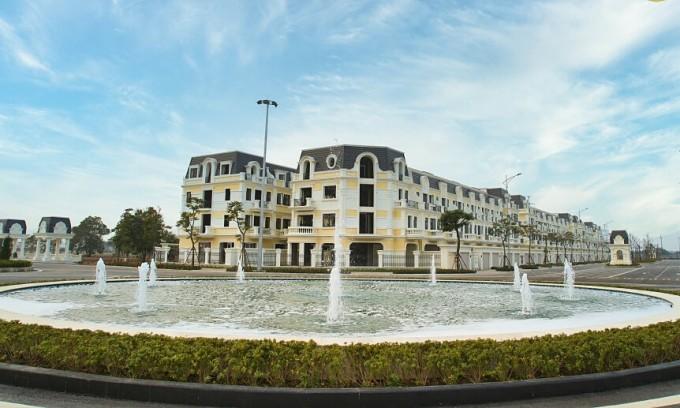 Dòng sản phẩm nhà phố thương mại và biệt thự thương mại của Anlac Green Symphony ra mắt trong tháng 5/2021. Ảnh: Anlac Group.