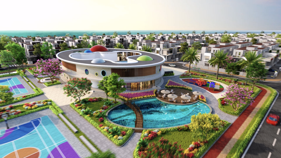 Hệ tiện ích ấn tượng được quy hoạch hoàn chỉnh và đồng bộ tại Aqua City.