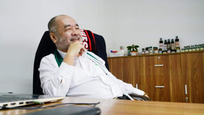 Ông Nguyễn Trung Dũng khởi nghiệp ở tuổi 50 với ước mơ đưa Dh Foods trở thành góc gia vị trong căn bếp thế giới.