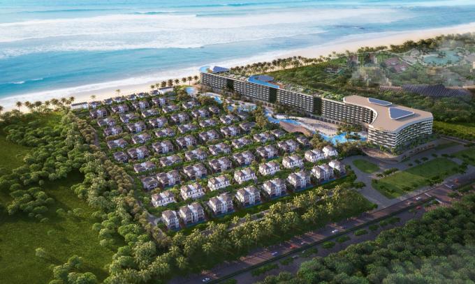 Một bất động sản nghỉ dưỡng tiềm năng cần hội tụ những yếu tố thuận lợi về vị trí, pháp lý, uy tín chủ đầu tư... Ảnh minh họa dự án Grand Mercure Hoi An.