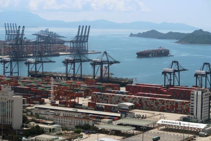 Cảng Diêm Điềm, tỉnh Quảng Đông vào tháng 5/2020. Ảnh: Reuters.