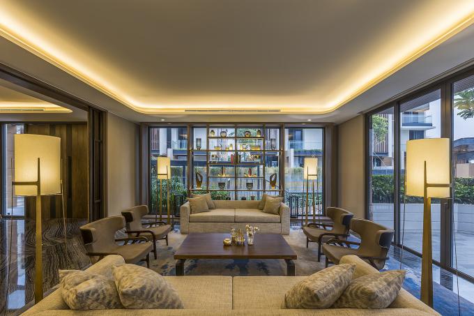 Dự án Clubhouse tại Lancaster Eden do Creative Mind Design thi công tại Việt Nam, vào năm 2019, có diện tích 295,62 m2.