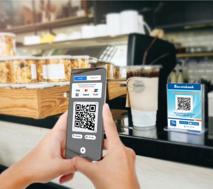 Thông tin chi tiết về ưu đãi cho thanh toán qua mã VietQR, liên hệ hotline 1900555588 hoặc 02835266060. Tham khảo thêm thông tin tại website khuyenmai.sacombank.com.