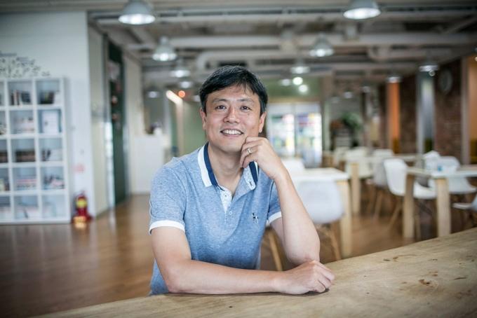 Nhà sáng lập Krafton Chang Byung-gyu. Ảnh: Bloomberg.