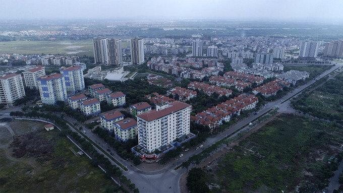 Một khu đô thị ở Hà Nội. Ảnh: Giang Huy.