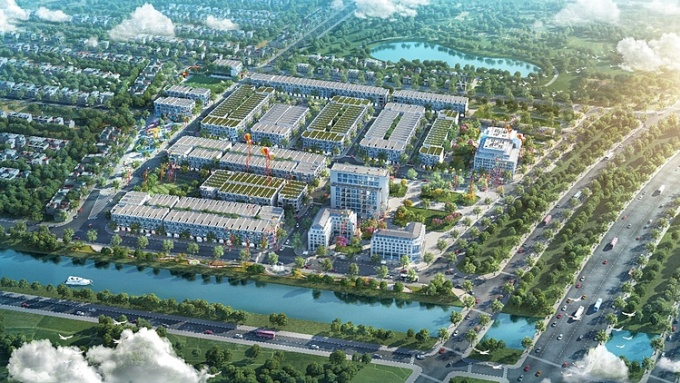 TNR Holdings Vietnam cũng đầu tư một khu đô thị thương mại - dịch vụ đẳng cấp tại Thọ Xuân