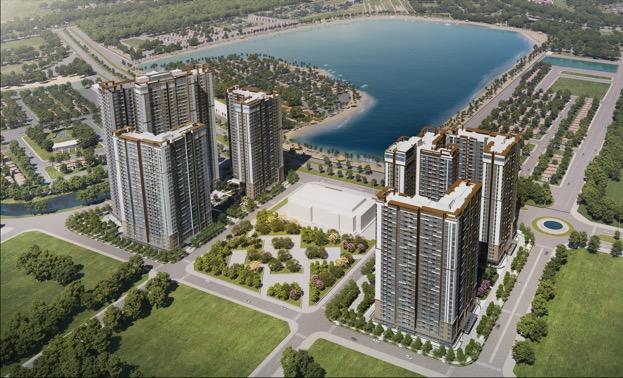 Khu căn hộ cao cấp chuẩn quốc tế Masteri Waterfront.