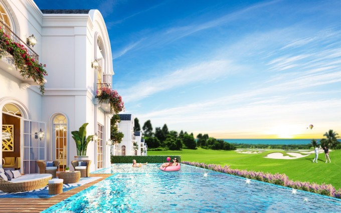 PGA Golf Villas tại NovaWorld Phan Phiet được đánh giá là dòng second home siêu sang đo ni đóng giày cho giới golfer và doanh nhân Việt.