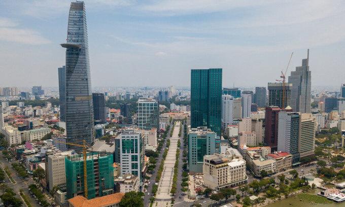 Thị trường mặt bằng bán lẻ thuộc các trung tâm thương mại tại quận 1, TP HCM. Ảnh: Quỳnh Trần.