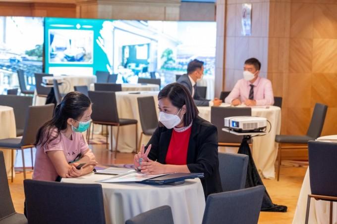 Lễ ra mắt dự án BRG Legend – Hải Phòng tổ chức tại Hong Kong. Ảnh: BRG Legend