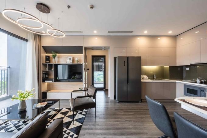 Một căn hộ tại phân khu The Zenpark. Ảnh: Vinhomes