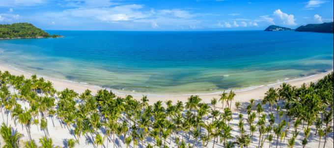 Bãi Kem ở Nam Phú Quốc – Top 100 bãi biển đẹp nhất hành tinh . Ảnh: Khang Vinh