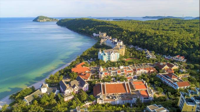 Tổ hợp Bãi Kem, Nam Phú Quốc sẽ sớm được bổ sung dòng bất động sản second home cao cấp. Ảnh: Khang Vinh