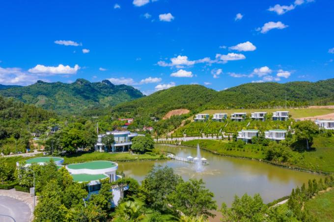 Tổ hợp bất động sản Ivory Villas & Resort.
