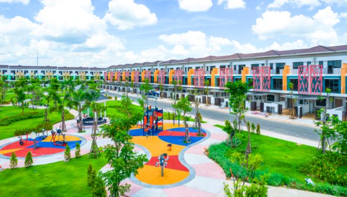 Sun Casa Central có mật độ phủ xanh lên đến 40%