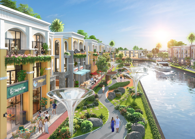 Không gian sống sinh thái, tiện nghi và tốt cho sức khỏe tại đảo Phượng Hoàng, Aqua City.