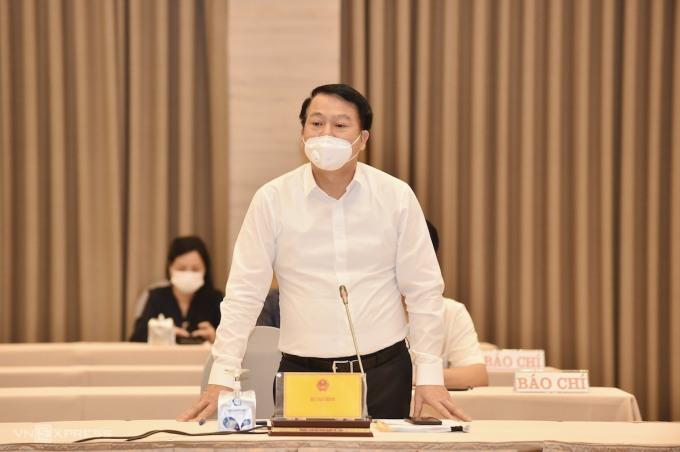 Ông Nguyễn Đức Chi - Thứ trưởng Tài chính. Ảnh: Nhật Bắc