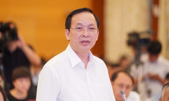 Ông Đào Minh Tú - Phó thống đốc Ngân hàng Nhà nước. Ảnh: VGP