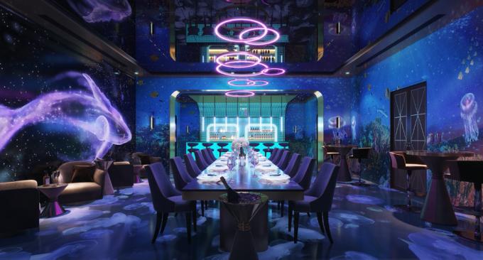 Phối cảnh Visual Bar & Restaurant.