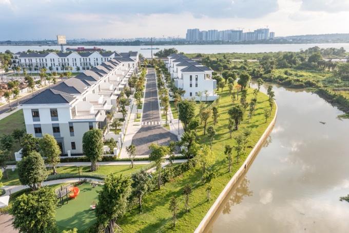 Aqua City - dự án đô thị sinh thái thông minh nổi bật ở phía Đông Sài Gòn. Ảnh: Novaland