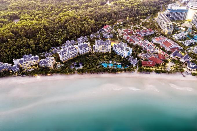 Dòng bất động sản second home hạng sang chuẩn wellness sắp hiện diện tại Bãi Kem, Nam Phú Quốc.  Ảnh: Khang Vinh